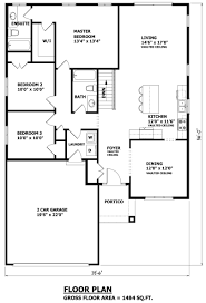 Scaled Floor Plan House Plans Canada Stock Custom