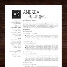 modern curriculum vitae template resume template cv template word for mac or pc professional