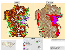 Rocky Mountain Map The Complex Ecosystem Of A Developing Research Project Ecopress