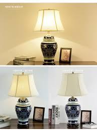 china antike wohnzimmer studie retro vintage tischlampe porzellan