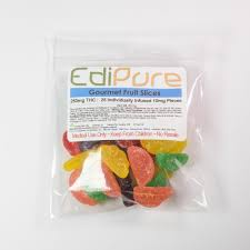 gourmet fruit edipure gourmet tropical fruit slices 100mg or 250mg