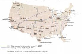 swa route map has the spirit effect replaced the southwest effect
