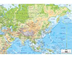 Sw Asia Map by Physical Map Of East Asia You Can See A Map Of Many Places On