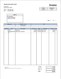 employee invoice ricdesign