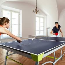 2 piece ping pong table dunlop premium 2 piece table tennis table md sports your best