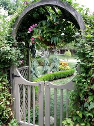 how to build a trellis archway a moon gate for your garden u2022 nifty homestead