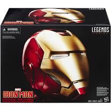 marvel legends iron man electronic helmet walmart com