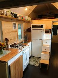 tiny house completed kitchen as seen on hgtv tiny house big living