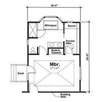 Master Bedroom Floor Plans With Bathroom Home Design Ideas - Master bedroom additions pictures