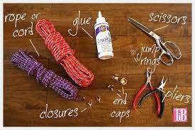 make bracelet from rope images Knotted rope bracelet jpg