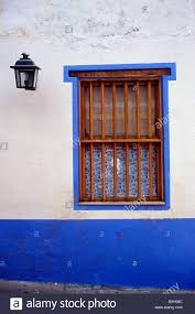 Colonial Style House by Window Of A Colourful Spanish Colonial Style House In Caracas