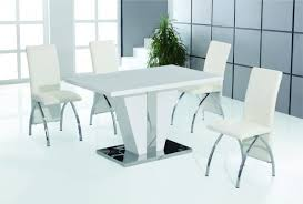 steel dining table set small white high gloss dining table chairs set buy online today