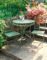 Garden Bistro Table Green Bistro Set