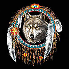 dreamcatcher wolf t shirt