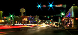 Main Street Lighting The Road Trip To The Best Christmas Lights In Texas In 2016