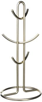 spectrum mug holder satin nickel home kitchen