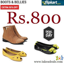 buy boots flipkart 55 on s boots bellies flats rs 800 only take