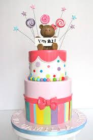 celebrate with cake teddy 21st birthday cake