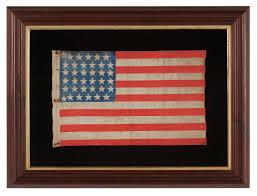 Civil War Union Flags Jeff Bridgman Antique Flags And Painted Furniture Civil War Era