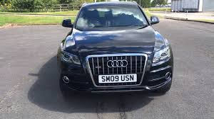 Audi Q5 60 Plate - 2009 09 audi q5 3 0 tdi quattro s line 5d auto 240 bhp sat nav