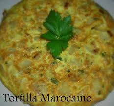 menu cuisine marocaine tortilla marocaine le cuisine de samar
