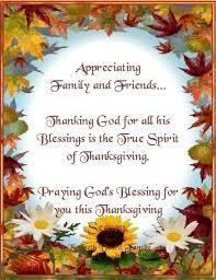 thanksgiving prayers family thanksgiving blessings
