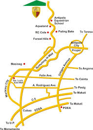 antipolo map kingsville heights subdivision