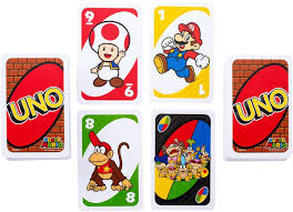 amazon com uno super mario game toys u0026 games