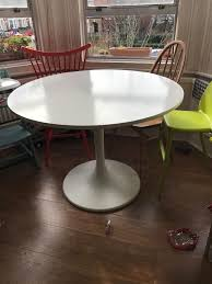 furniture docksta table saarinen table dimensions round tulip