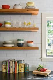 Open Shelving Reclaimed Open Shelving Farmhouse Kitchen Minneapolis By