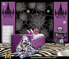 monster high bedroom decorating ideas decorating theme bedrooms maries manor monster high kids room