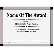 free printable award certificates 10 great options for a wide