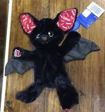 build a unstuffed build a unstuffed black bat plush new with tag glow