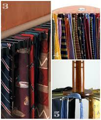 tie racks for closets