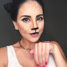 Diy Makeup Halloween by Oh Deer It U0027s Halloween U2014 Lizandra Liane Hair Makeup Artist
