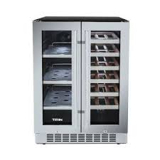 Wine Cabinet With Cooler by Wine Beverage U0026 Keg Coolers Appliances The Home Depot