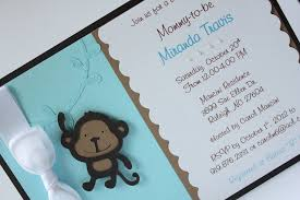 how to make baby shower invitations theruntime