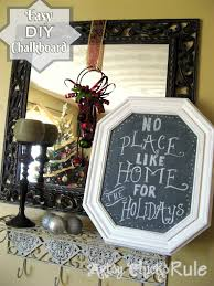 100 thrifty home decorating blogs best decorating bloggers 10 diy thrifty christmas decor anyone can do artsy chicks rule diy chalkboard from old pictures