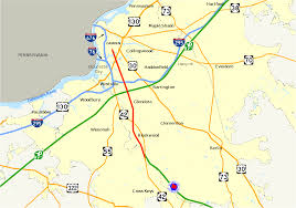 Ups Route Map by New Jersey Route 168 Wikipedia