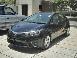 toyota corolla 1 6 2014 used toyota corolla for sale at carigar car care lahore showroom