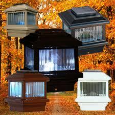 Trex Lighting Solar Post Caps Solar Deck Lights The Deck Store Online