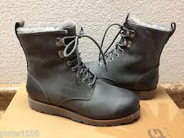 buy ugg boots uk ugg hannen metal leather boot us 9 eu 42 uk 8 ebay
