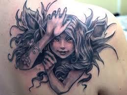 Fairy And Flower Tattoo Designs Tribal Fairy And Flower Tattoo Designs Photo 2 Photo Pictures