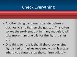 what does it mean when check engine light is on warning warning what the check engine light means for drivers