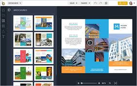 travel brochure creator brochure maker befunky free online