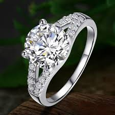 married ring aliexpress buy the classic sona 2 karat finger ring drilling