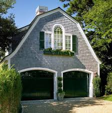 shingles windows garage door dutch colonial roof style houses