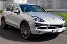Porsche Cayenne Suv - 2013 porsche cayenne diesel revealed at 2012 new york auto show