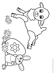easter colouring sheet coloring pages kids