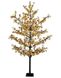 8 5 led maple tree with yellow leaves at menards